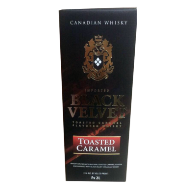 Виски Black Velvet caramel ( Блєк Вельвет карамель) 2л